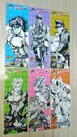 NEW JoJo's Bizarre Adventure Official Part 1 to 3, 5 to 7 Paper Bookmark Ichiban