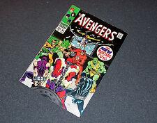 54 vf+ 1st ULTRON, New Masters of Evil, MOVIE Stan Lee B+B 1968 AVENGERS Marvel