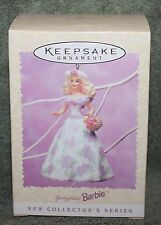 Hallmark Keepsake Springtime Barbie Ornament 1995