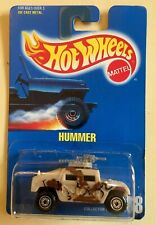 Hot Wheels 1991 Hummer SUV. Rare,HTF! '91 Blue Card Series. Collector No. 188.