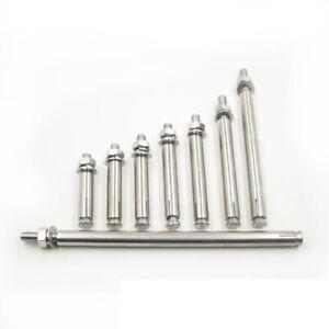 Masonry Concrete Expansion Bolts M6 M8 M10 M12 Wall Rawl Bolt Sleeve Screw + Nut