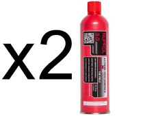 Nuprol 3.0 Airsoft Red Green Gas High Performance Low Temperature X 3 Cans