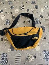North Face cross body bag / bum bag / waist pack  Black And Yellow