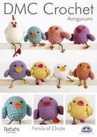 Amigurumi Crochet Pattern Family Of Chicks DMC