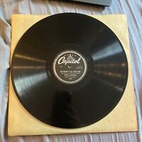 "Bobby Sherwood There's Them That Do 10"" 78RPM Capitol Vinyl"