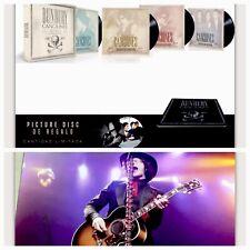 """Enrique Bunbury Box Set Canciones 1987 -2017 8 Vinyl + 7"""" + 4 Cds +Libro. Signed"""