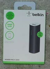 Belkin 2000 mAh Power Bank Phone Charger for iPhone 5,6 and other smartphones