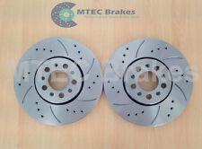 Bora 2.3 V5 4 motion Front Grooved Brake Discs 288mm