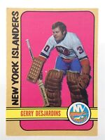 1972-73 Gerry Desjardins New York Islanders 119 OPC O-Pee-Chee Hockey Card P164