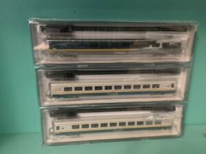 N Scale Rapido LRC 3 Pack, 1 Bussiness/Lounge 2 Coach