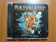 Poltergeist - Behind My Mask Swiss / German 80´s Thrash official CD W/ Bonus