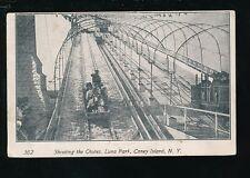USA New York fair Coney Island LUNA PARK Chutes 1900s u/b PPC faults
