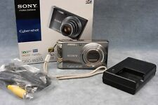 14.1MP SONY CYBERSHOT DSC-W370 DIGITAL STILL CAMERA IN BOX W/NEW BATTERY