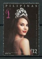 Philippines People Stamps 2019 MNH Miss Universe 2018 Catriona Gray 1v Set