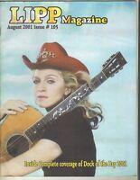 MADONNA Lipp Magazine August 2001 8/01 #105 NEW YORK CITY GAY INTEREST PC