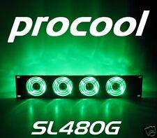 PROCOOL SL480G (2U) Rack Mount Cooling Fan 4 LED fans