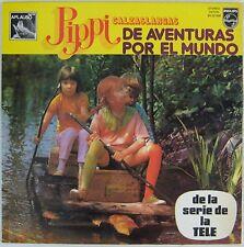Fifi Brindacier 33 tours Aventures par le monde Espagne 1975