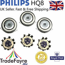 PHILIPS HQ8 UNIVERSAL Replacement heads / foils / blades ~ Philishave / Sensotec