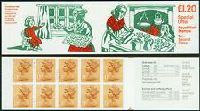 Great Britain Booklet 1985 £1.20 Christmas BK492 SGFX9B
