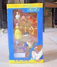 Disney Beauty and the Beast 8 piece PVC figure set by YUTAKA Japan NIB