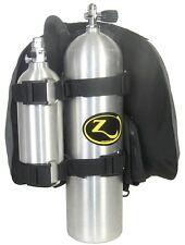 Zeagle Scuba Diving H. D. Pony Bottle Heavy Duty Kit Twin Straps 8029HD