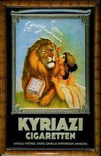 Blechschild Kyriazi Cigaretten Löwe Zigaretten Schild Nostalgieschild 20x30 Deko