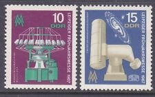 Germany DDR 897-98 MNH 1967 Zeiss Telescope & Galaxy Leipzigt Spring Fair Set