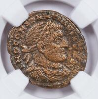 AD 307-337 Ancient Roman Bronze Constantine I Sol NGC VF SKU60297