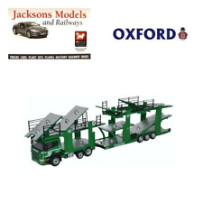 Oxford 76SCT003 Scania Car Transporter Woodside Motorfreight Ltd 1:76 Scale