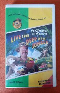 Joe Scruggs Concert VHS Live From Deep In The Jungle LYRICKStudios BIG CLAM RARE