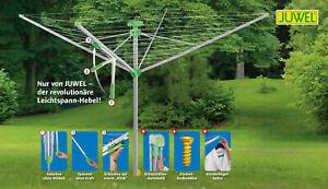 Juwel Wäschespinne Novaplus 500 Easy (Wäscheschirm, Ø 2,95 m, Automatik Spanner)