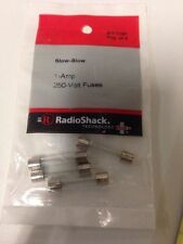 Slow-Blow 1-Amp 250-Volt Fuses #270-1021 By RadioShack