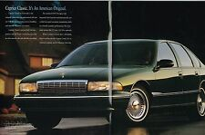 1996 Chevy CAPRICE CLASSIC Brochure/Catalog with Color Chart:Sedan,Station Wagon