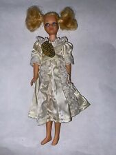 Vintage 1970 LIVING SKIPPER DOLL #1147 In Lace Trimmed Nightgown Mattel