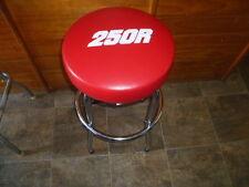 HONDA RED HONDA TRX ATC 250R SEAT Bar Counter STOOL with Swivel & chrome frame
