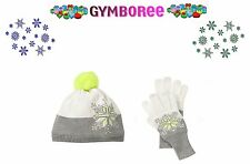 "Gymboree Girl ""Cozy Ski Lodge"" Holiday Collection Hat + Gloves Gift set Age 7-9"