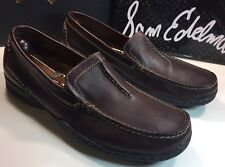 CLARKS ASHMONT RACE DARK BROWN LEATHER LOAFERS DRIVING SHOES MOCCASIN MEN'S 11 M