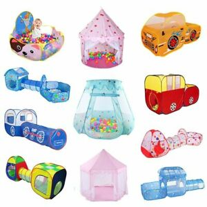 Portable Children's Tent Toys Kids Play Indoor Outdoor Playhouse Baby Ball Pool