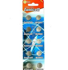 AG13  LR44 G13  Alkaline batteries    L1154  303  357  battery  Eunicell  x 10