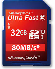 New 32GB Ultra Fast SD SDHC Class 10 Memory Card for Camera Camcorder 32GIG UK