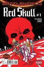 RED SKULL (2015) #1 VF BATTLEWORLD
