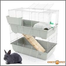 Rabbit / Guinea Pig 2-Tier Cage by Cozy Pet 80cm RB80-D Rat, Chinchilla, Hutch