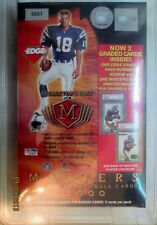 2000 Collectors Masters Football  Box, 2 PSA cards, UNOPENED