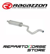 RAGAZZON TUBO CENTRALE INOX FIAT PUNTO II 2 TYP188 1.2 16V Sporting 59kW 80CV