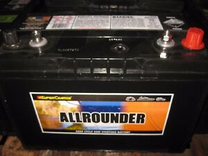 12v  MRV70L  ALLROUNDER DEEP CYCLE & STARTING BATTERY 105 amp hour 760cca NEW