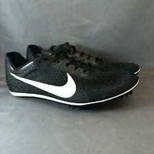 8d1a31247a2 New Mens Nike Zoom Victory 3 Track Running Spikes Black Sz 6.5 835997 017