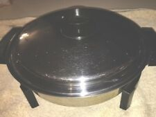 """11"""" STAINLESS STEEL WB LIQUID CORE ELECTRIC SKILLET. Serial # 27884"""
