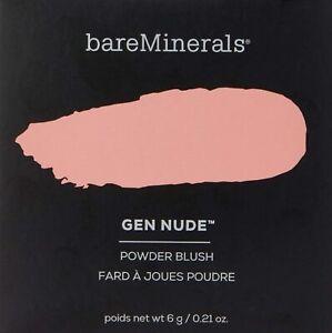 BareMinerals Gen Nude Powder Blush - On The Mauve  6 g / 0.21 oz