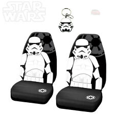 3PC STAR WARS STORMTROOPER CAR SEAT COVER WITH KEYCHAIN SET FOR HONDA