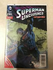 SUPERMAN UNCHAINED # 2 COMBO PACK EDITION FIRST PRINT DC COMICS